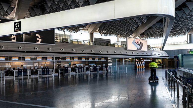 COVID hygene airport