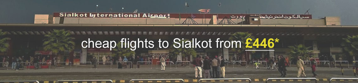 flights to sialkot