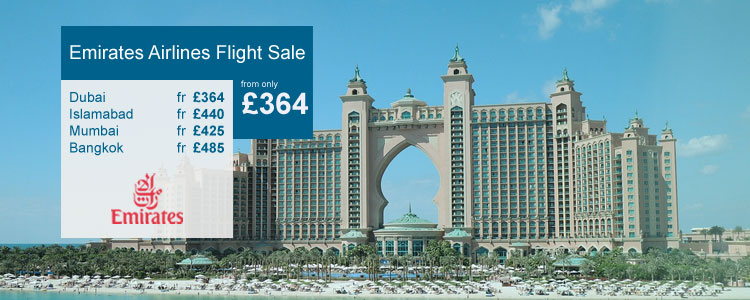 emirates airlines flight sale