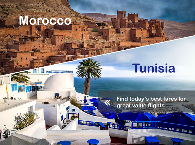 Tunisia and Morocco Flight Offers