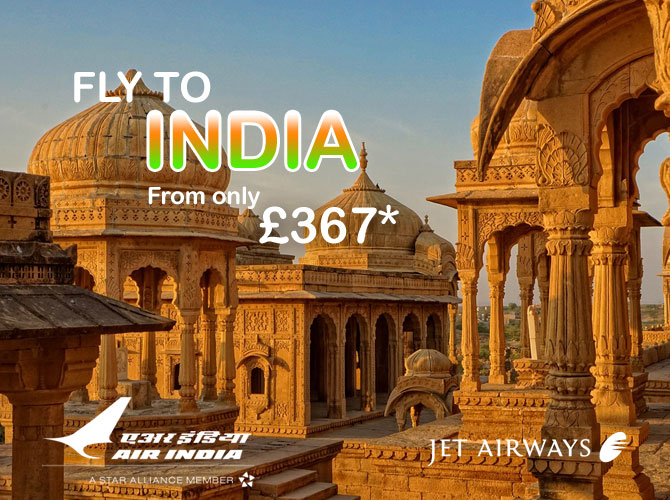 flights to india offers