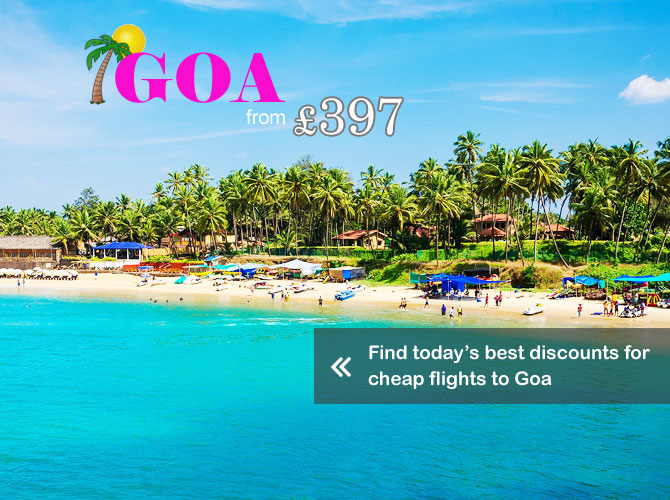 Goa India Flight offers