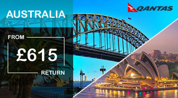 australasia airfares by destination