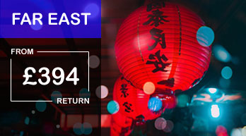 far east airfares by destination