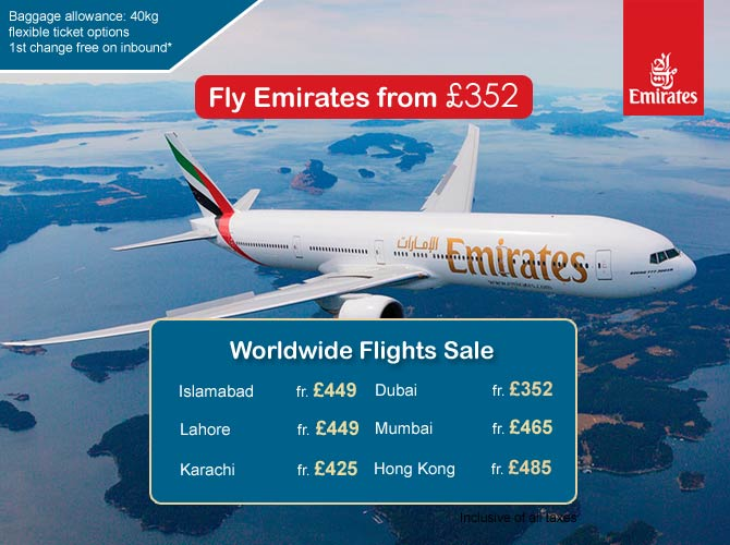Emirates worldwide offers