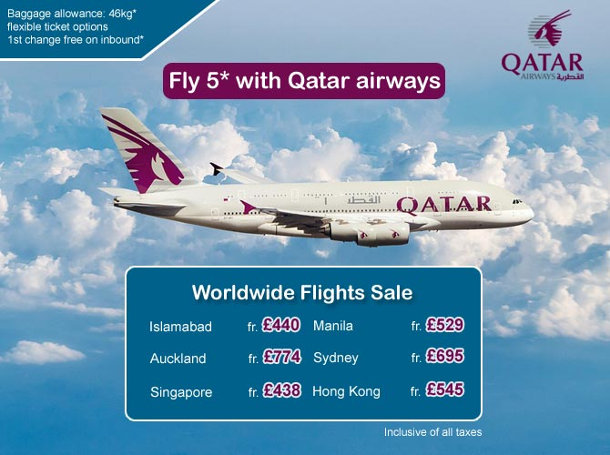 Qatar worldwide offers