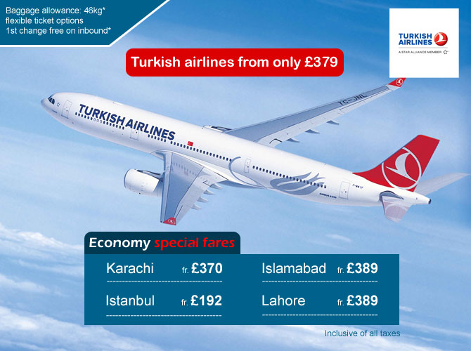Turkish worldwide offers